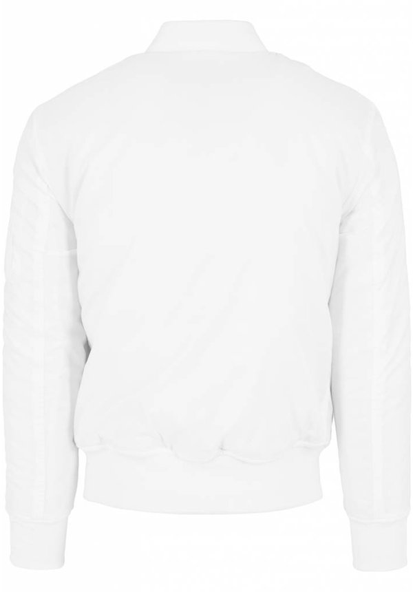 BASIC BOMBER JKT WHITE (MEN)