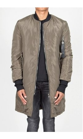 SIXTH JUNE LONG BOMBER JKT KHAKI (MEN)