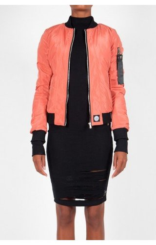 SIXTH JUNE BOMBER JKT PINK (WMN)