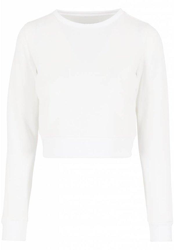 SCUBA MESH CROP SWEATER WHITE (WMN)