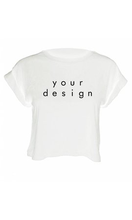 DESIGN YOUR OWN CROP TOP (WMN)