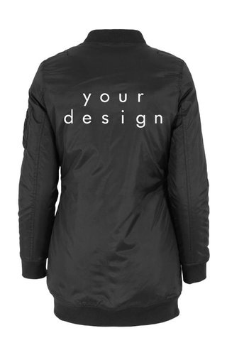 DESIGN YOUR OWN LONG BOMBER JKT (WMN)