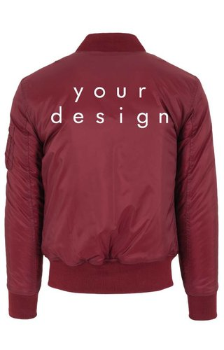 DESIGN YOUR OWN BOMBER JKT (MEN)
