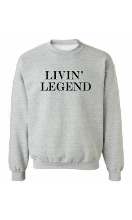 LIVIN 'LEGEND SWEATER (MEN)