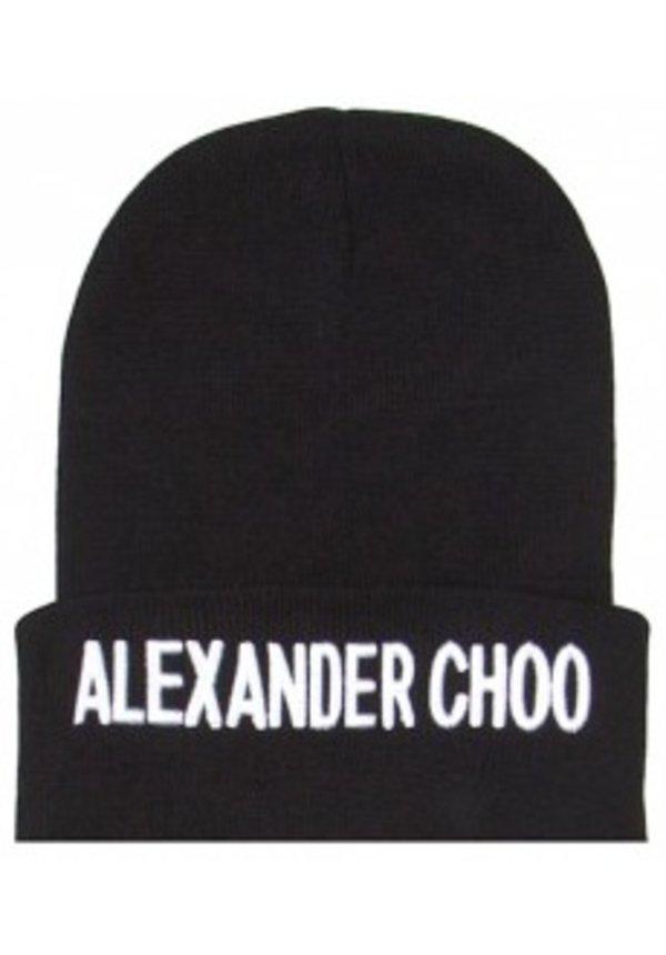 ALEXANDER CHOO BEANIE BLACK