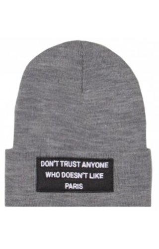 SIXTH JUNE DON'T TRUST BEANIE GREY