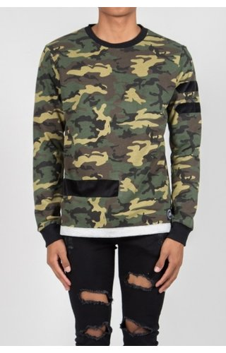 SIXTH JUNE CAMO SWEATER (MEN)