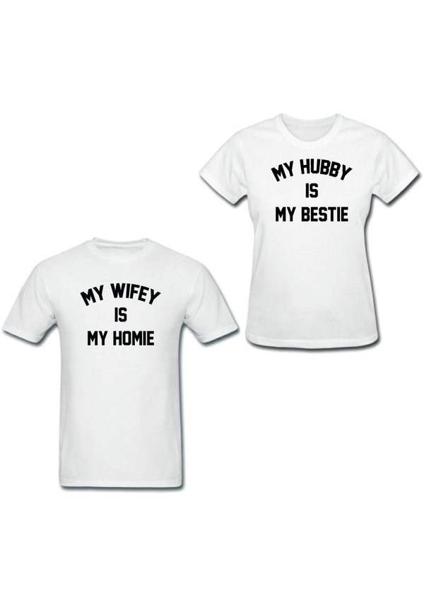 BESTIE HOMIE COUPLE TEES