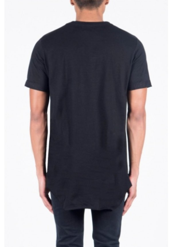 DESTROYED LONG TEE BLACK (MEN)