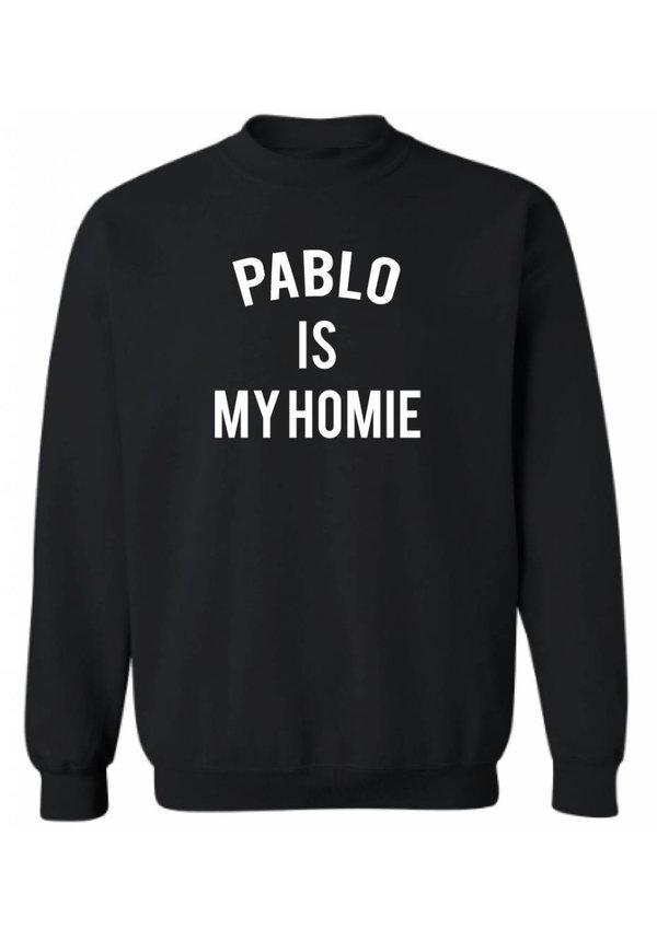 PABLO IS MY HOMIE SWEATER (MEN)