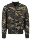 CAMO BOMBER JKT (MEN)