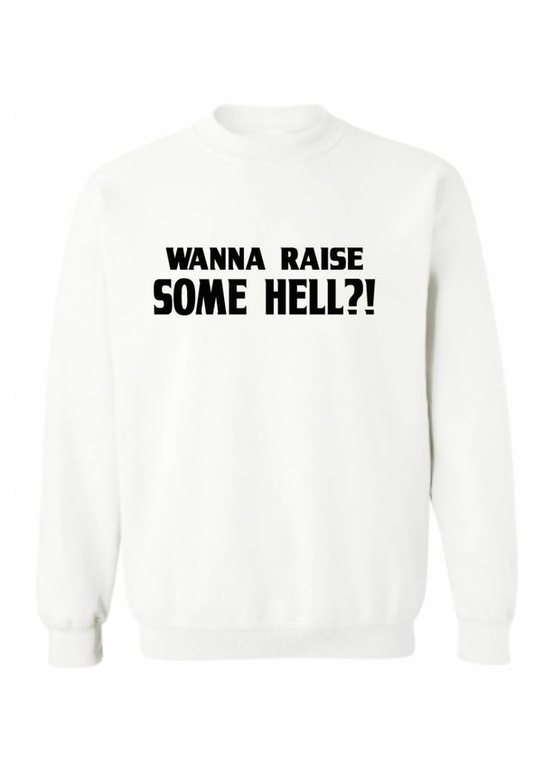 WANT TO RAISE SOME HELL? SWEATER (MEN)