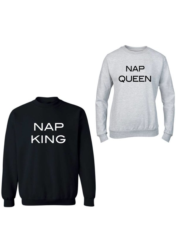 NAP KING & QUEEN COUPLE SWEATERS