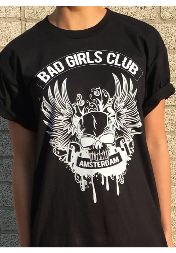CUSTOM BAD GIRLS CLUB TSHIRT DRESS
