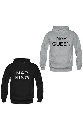 NAP KING & QUEEN COUPLE HOODIES