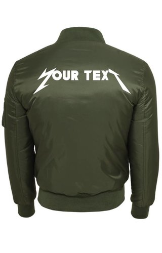 CUSTOM ROCK BAND BOMBER JKT (MEN)