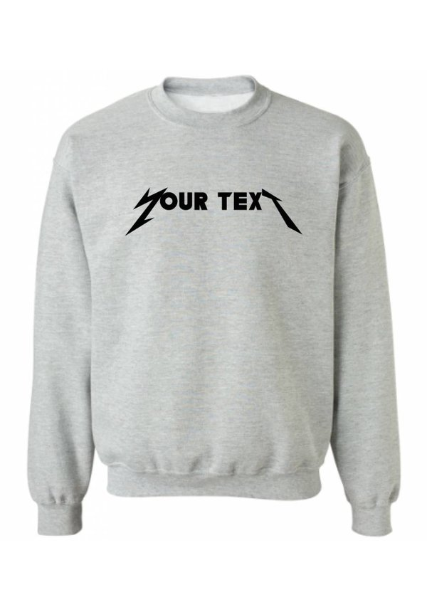 CUSTOM ROCK BAND SWEATER (MEN)