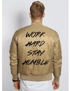 WORK HARD STAY HUMBLE BOMBER (MEN)