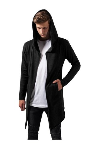 LONG CARDIGAN DARK GREY (MEN)