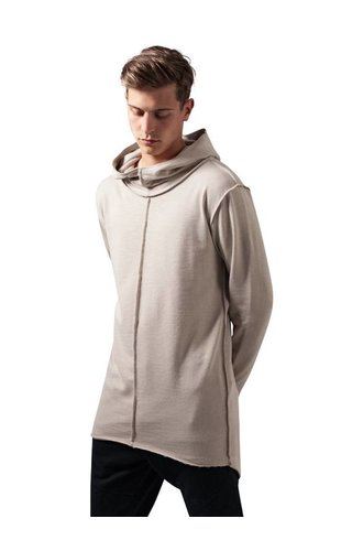 SLUB TERRY LONG HOODIE SAND (MEN)