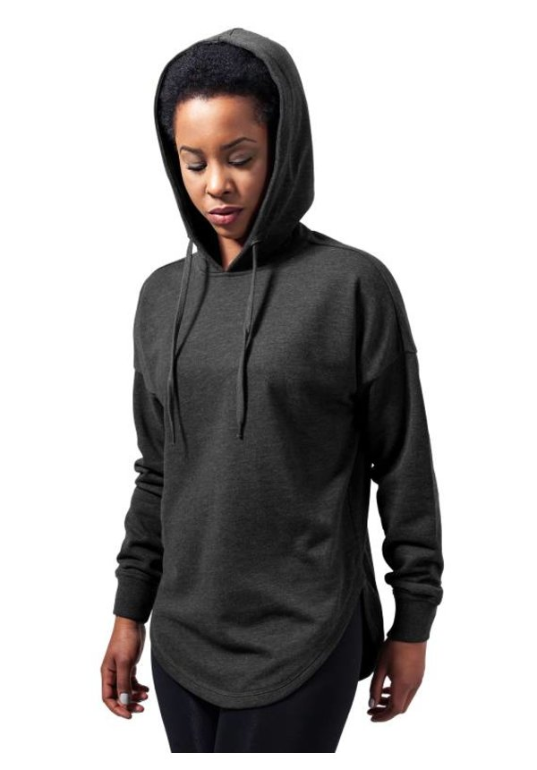 OVERSIZED TERRY HOODIE DARK GREY (WMN)