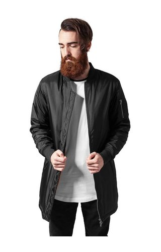 BASIC LONG BOMBER JKT BLACK (MEN)