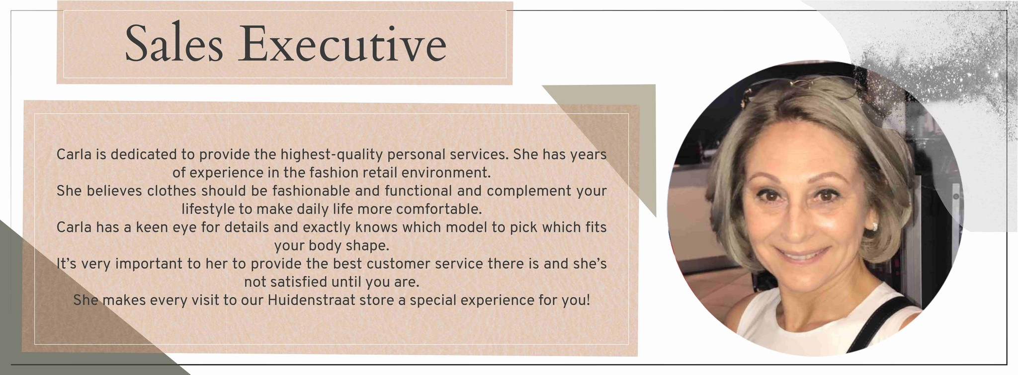 Carla sales executive