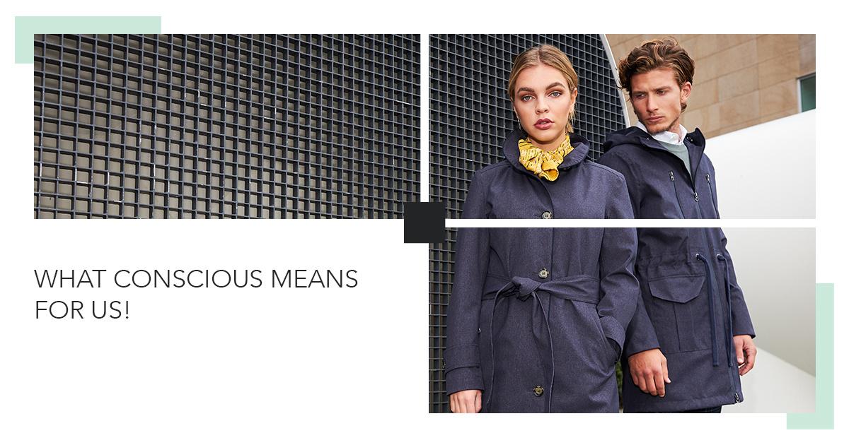 conscious - rain couture