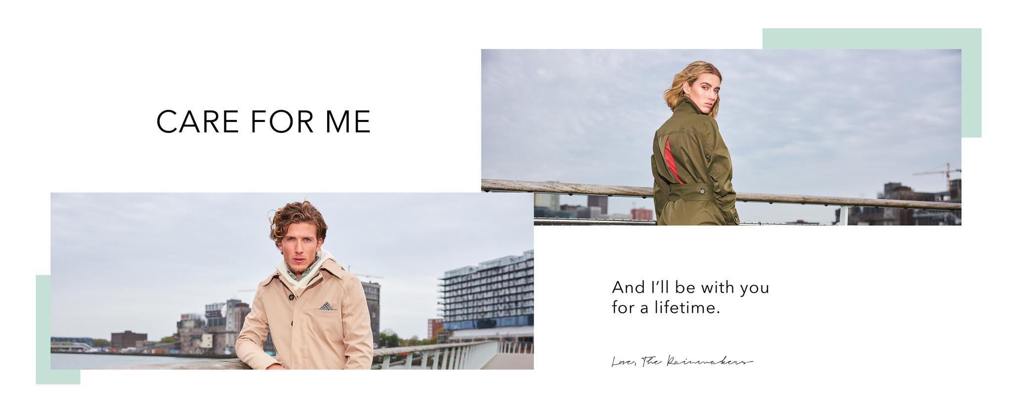 wasinstructie rain couture amsterdam