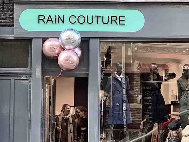 Waterproof Designer Raincoats - Rain Couture Amsterdam