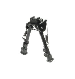 "UTG - leapers UTG - Leapers, Tactical OP Bipod, Rubber Feet, Center Height 6.1""-7.9"""