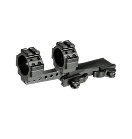 UTG - leapers UTG - Leapers, Integral 30mm Offset QD Mount, 2 Top Slots, 100mm Base