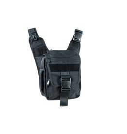 UTG - leapers UTG - Leapers, 24/7 Ambidextrous Scout Messenger Bag, Black