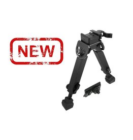 "UTG - leapers UTG - Leapers, Rubber Armored Full Metal QD Bipod, Height 6.0""- 8.5"""