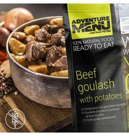 Adventure Menu Adventure Menu, Rindergulasch mit gekochten Kartoffeln