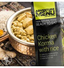 Adventure Menu Adventure Menu, Hühnchen Korma mit Reis