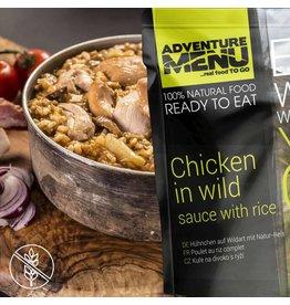 Adventure Menu Adventure Menu, Hühnchen auf Wildart mit Reis