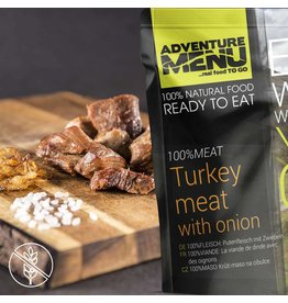 Adventure Menu Adventure Menu, 100%FLEISCH: Putenfleisch mit Zwiebeln
