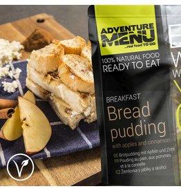 Adventure Menu Adventure Menu, Brotpudding mit Äpfeln und Zimt VEGETARISCH