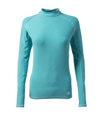 Gill Lycra shirt Pro Rash dames blauw lange mouw