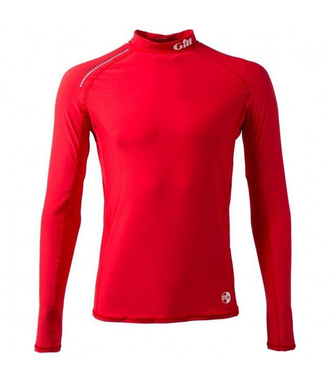 Gill Lycra shirt Pro Rash rood heren lange mouw