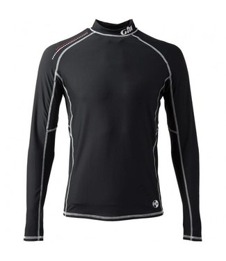 Gill Lycra shirt Pro Rash zwart heren lange mouw