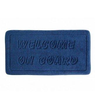 ARC Marine Deurmat Welcome on Board blauw