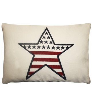 FS Home Bootkussen USA Star smal