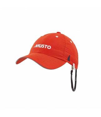 Musto Crew cap fast dry oranje