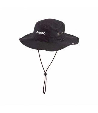 Musto zonnehoed Evo Brimmed Hat zwart