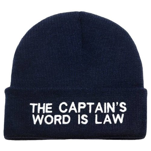 Flyer gifts Muts captain's word is law