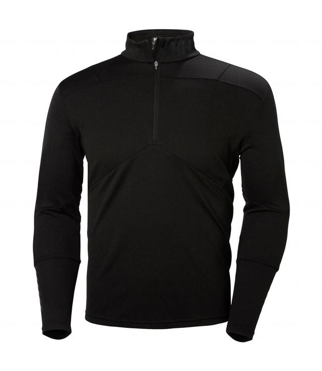 Helly Hansen Thermoshirt Lifa Active korte rits, zwart