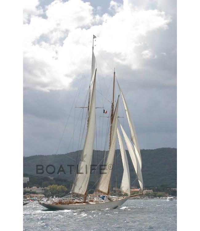Boatlife Schilderij boot Saint Tropez A4