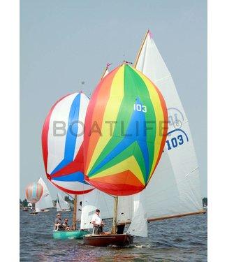 Boatlife Schilderij zeilboot wedstrijd C1